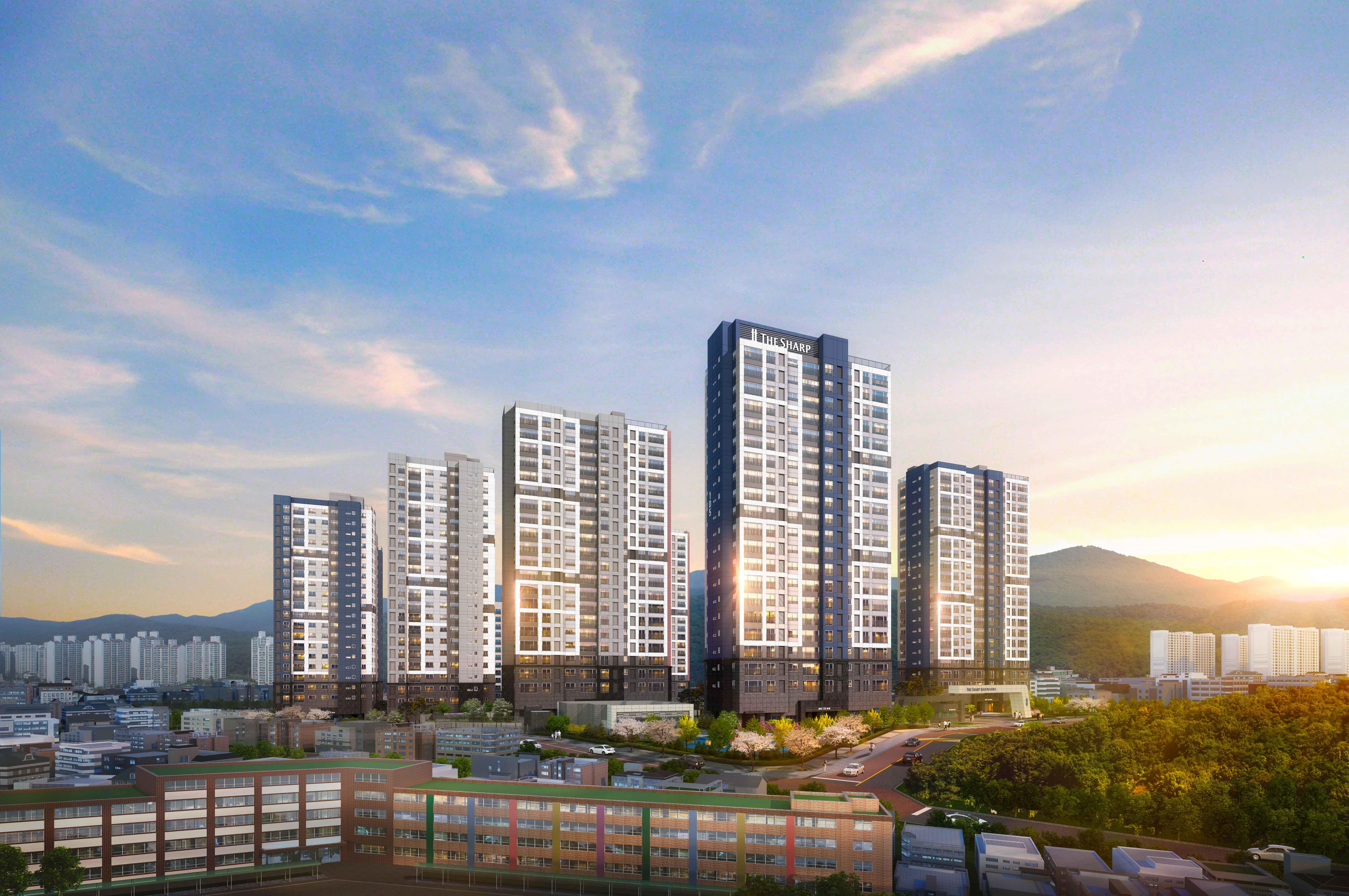 포스코건설, '더샵 광교산 퍼스트파크' 21일 1순위 청약