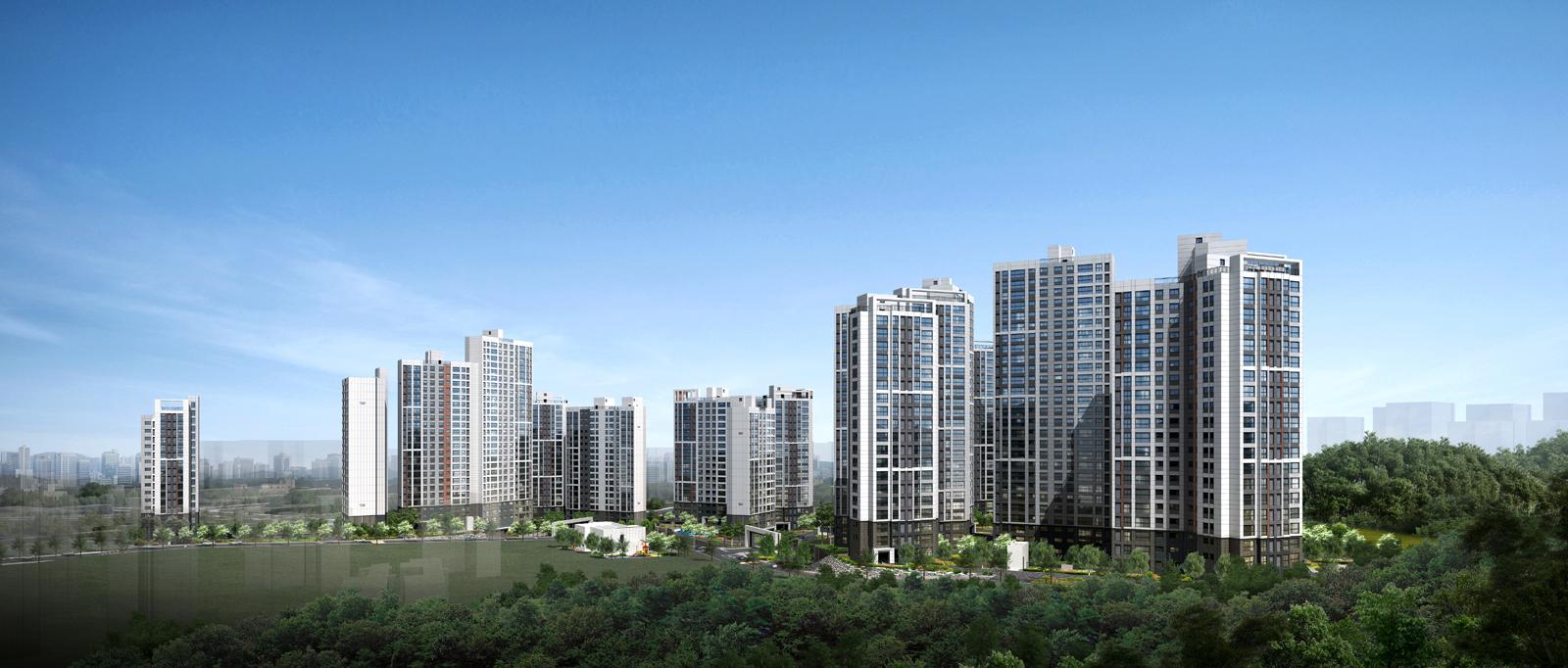 대우건설 컨소시엄, '광명 푸르지오 포레나' 사이버 견본주택 오픈 광명14구역 재개발, 지하3층~지상27층, 총 1,187세대
