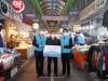 한국수자원공사, 전통시장 보듬어 지역경제 살린다 전국 128개의 임직원 봉사동아리 전통시장 소비 촉진
