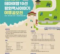 인천관광공사, 평화역사 이야기 여행 공모 '인천 중구·강화, 경기 수원·파주·화성', 5개 도시로 떠나는 나만의 여행기
