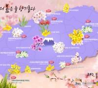 제주특별자치도, 제주관광공사 비짓제주 ,제주의 봄, 꽃 길 따라 여행을 즐겨봐요!